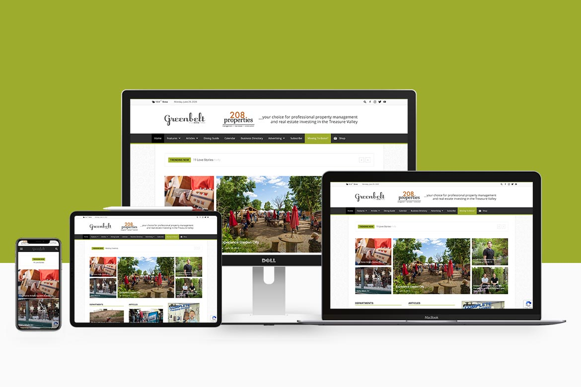 greenbelt-website